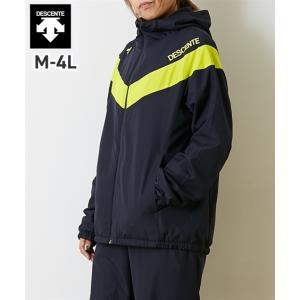 スポーツウェア メンズ DESCENTE 防風 はっ水 ウインド ジャケット ユニセックス 冬 M/L/LL/3L/4L ニッセン nissen|ニッセン PayPayモール店