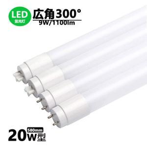 LED蛍光灯 20w形 広角300度 昼光色 昼白色 電球色  led直管蛍光灯T8 58cm  G13口金  20W形相当 FL20S  直管LEDランプ 色選択|nissin-lux