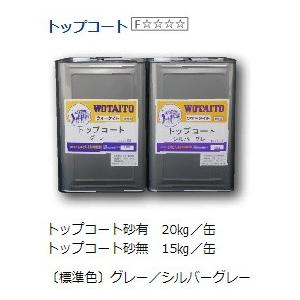 ウォータイト ガスファルト用トップコート 砂無 標準色 15kg/缶|nitiyousakanemu