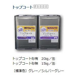 ウォータイト ガスファルト用トップコート 砂有 標準色 20kg/缶|nitiyousakanemu