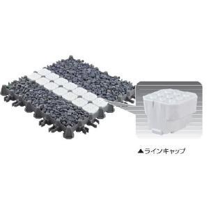 砂利パーキング用 ラインキャプ 12個入り 四国化成工業|nitiyousakanemu