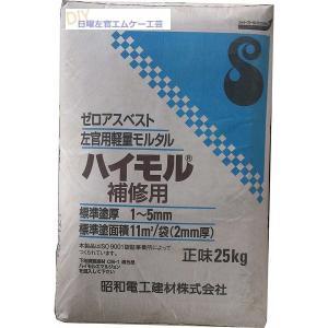 ハイモル補修用 25kg/袋|nitiyousakanemu