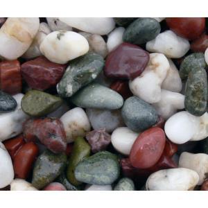 天然五色石 ヤマト和風本玉石  20kg/袋 マツモト産業|nitiyousakanemu