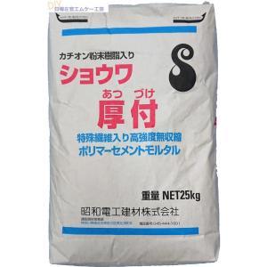 昭和電工 ショウワ厚付(カチオン粉末樹脂入り) 25kg/袋 nitiyousakanemu