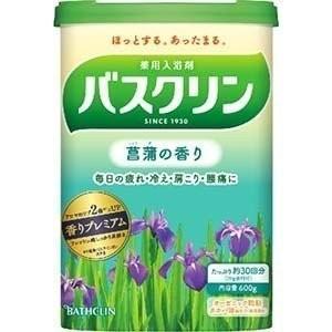 バスクリン バスクリン 菖蒲の香り 600g(入浴剤)※北海道・東北方面は15個まで nitizatu-ya