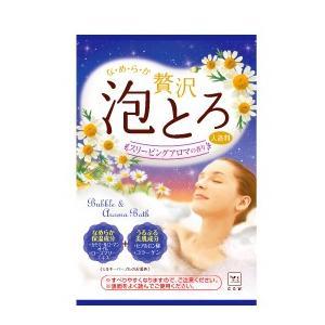 牛乳石鹸 お湯物語 贅沢泡とろ 入浴料 スリーピングアロマ 30g (16個までネコポス可) nitizatu-ya
