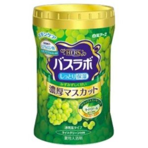 白元アース HERS バスラボボトル 濃厚マスカット 640g【入浴剤】 nitizatu-ya