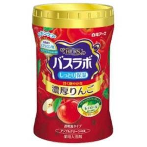 白元アース HERS バスラボボトル 濃厚りんご 640g【入浴剤】 nitizatu-ya