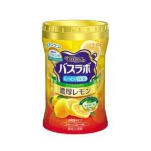 白元アース HERSバスラボボトル 濃厚レモンの香り640g【入浴剤】 nitizatu-ya