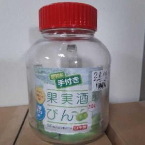 東洋佐々木ガラス 果実酒びん(梅酒びん) 2.0L(日本製) nitizatu-ya