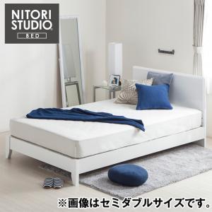 ベッドフレーム シングル シングルフレーム (Sメリッサ3 H85 WH LEG) ニトリ 『配送員設置』 『5年保証』|nitori-net