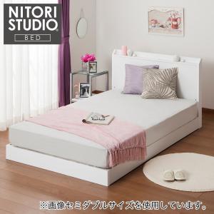 ベッドフレーム シングル シングルベッドフレーム (ヴァイン WH LOW) ニトリ 『配送員設置』 『5年保証』|nitori-net