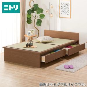 シングル畳ベッド(シデン F38引出し付き MBR) ニトリ 『配送員設置』 『5年保証』|nitori-net