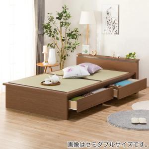 シングル畳ベッド(シデン C38引出し付き MBR) ニトリ 『配送員設置』 『5年保証』