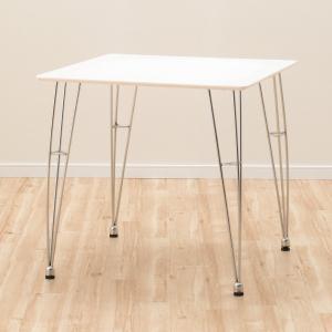 ダイニングテーブル(クーボ2 75 WH) ニトリ 『玄関先迄納品』 『5年保証』の写真