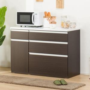キッチンカウンター(キュリー2 120CT DBR) ニトリ 『配送員設置』 『5年保証』|nitori-net