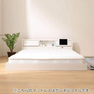 フラップ扉式フロアベッドセット(SD WH ボンネルコイル) ニトリ 『配送員設置』 『5保証』|nitori-net