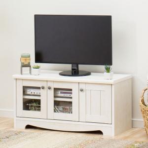 フレンチカントリー風TVボード(リズバレー SLM32V WH) ニトリ 『送料有料・玄関先迄納品』 『1年保証』|nitori-net