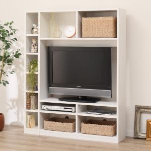 お部屋を広く見せるスリムタイプのテレビボード(Nウェルカー120 WH) ニトリ 『送料有料・玄関先迄納品』 『1年保証』|nitori-net