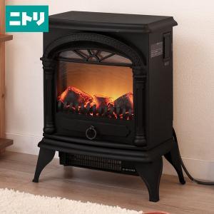 暖炉型ファンヒーター(BK18) ニトリ 『玄関先迄納品』 『1年保証』|nitori-net