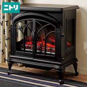 ワイド暖炉型ファンヒーター(BK18) ニトリ 『玄関先迄納品』 『1年保証』|nitori-net
