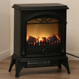 暖炉型ファンヒーター(NI ブラック) ニトリ 『玄関先迄納品』 『1年保証』|nitori-net