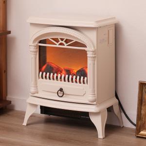 暖炉型ファンヒーター(NI アイボリー) ニトリ 『玄関先迄納品』 『1年保証』|nitori-net