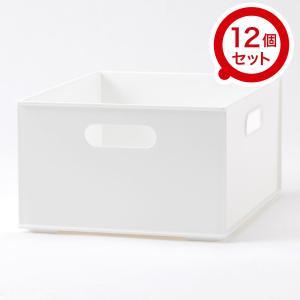 収納ケース Nインボックス クォーター 12個セット(ホワイト) ニトリ 『玄関先迄納品』 『1年保...