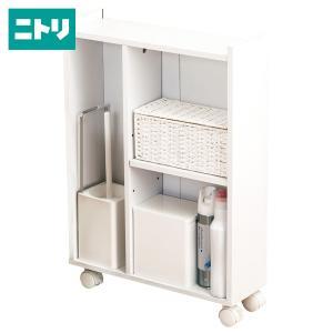 トイレ収納スリムカート フィーノ HP(ホワイト) ニトリ 『玄関先迄納品』 nitori-net