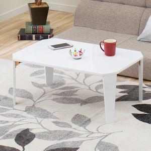 折りたたみテーブル シャイン 7550(WH) ニトリ 『玄関先迄納品』|nitori-net