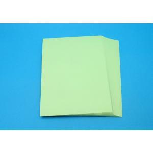 カラー点字用紙 厚手(110kg)【緑色・100枚入り】|nittento
