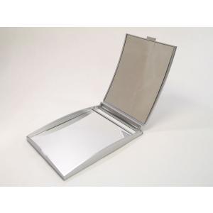 5倍拡大鏡付きコンパクトミラー|nittento