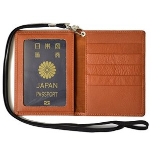 atelierCODEL パスポートケース 本革 レザー 日本製 パスポート ケース カバー (キャメルブラウン)|nitzeshop