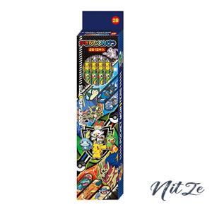 ショウワノート ポケットモンスター かきかた鉛筆 2B 1ダース 158729002 nitzeshop