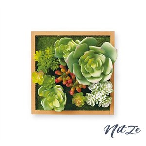 キシマ 人工観葉植物 Natural Natural:W12D7.5H12cm、Brown:W12D8H12cm|nitzeshop