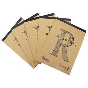 エヒメ紙工 らくがき帳 RAKUGAKI A5判 5冊パック ARA5-705P nitzeshop