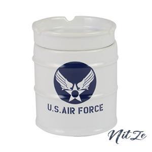 愛龍社 NEWドラム缶灰皿 AIR FORCE AR-1426-1|nitzeshop
