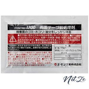 エーモン(amon) 両面テープ前処理剤 100mm200mm 1700|nitzeshop