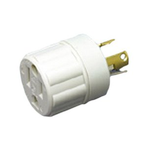 アメリカン電機 アダプター 引掛形-平刃形 白 KD0011|nitzeshop