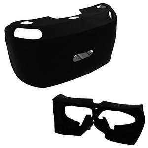 WD-S ソフトシリコンカバー VR用 ゴーグル ラバーケース 衝撃吸収