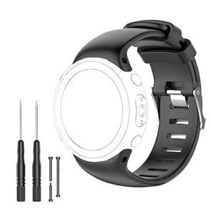 スント(SUUNTO) 交換腕時計ストラップ、Suunto D4, D4i, D4i Novo Wrist Dive 交換用バンド、シリコーン製腕時計ストラップ|nitzeshop