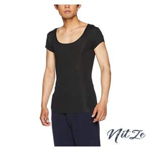 [グンゼ] インナーシャツ YG Tシャツ専用 in.T(インティー) CUT OFFシリーズ クルーネックTシャツ 汗取りパッド付 メ nitzeshop