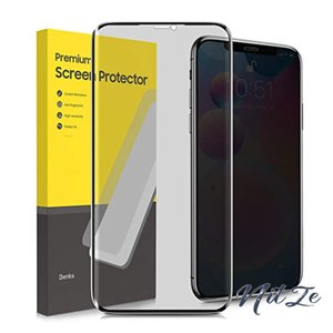 【2枚セット】Benks iPhone 11 Pro Max/Xs Max 用 覗き見防止 液晶保護フィルム 強化ガラス フィルム 硬度9H 極薄0.23mm 3D|nitzeshop