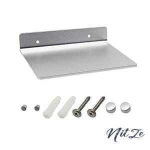 SinLoon 6インチ小型シェルフ、フラットサテンアルミニウム製バスルームシェルフウォールマウント、小型スピー|nitzeshop