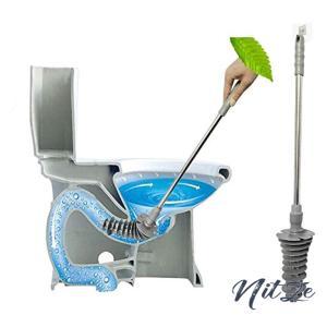 ラバーカップ トイレ掃除 すっぽん パイプクリーナー ぴーぴースルー トイレカバー トイレ つまり 解消 洋式ト|nitzeshop