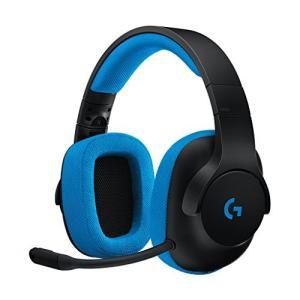 ゲーミングヘッドセット PS4 ロジクール G233 高音質 有線 2.1ch ステレオサウンド P...