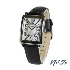 メンズ腕時計 皮ベルト 【限定 特別価格】シェル文字盤 フォーエバー FG-330-SIWH|nitzeshop