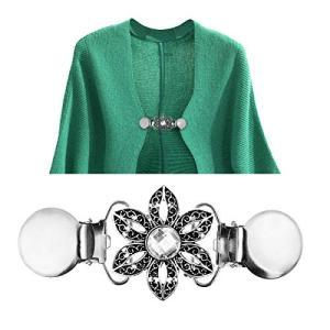 JYSHOP女性に適していますセーターショールシャツセット用装飾クリップ かなりファッションパターンのドレス nitzeshop