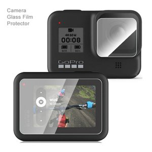 GoPro HERO8 ガラスフィルム GoPro8 Black 保護フィルム セット レンズフィル...