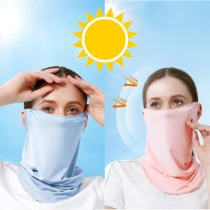 涼感マスク 夏用マスク フェイスカバー UV スポーツ マスク 夏用 冷感 UVカット 日焼け防止 ランニング ウォーキング 洗える 自転車 ネックカバー メンズ niuniushop 02